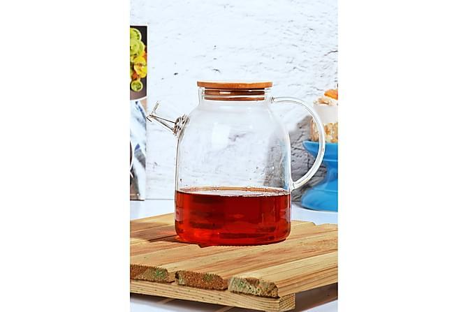 Kosova Tekanne 13x17,5 cm Glass - Transparent - Innredning - Kjøkkenutstyr - Termos & flasker