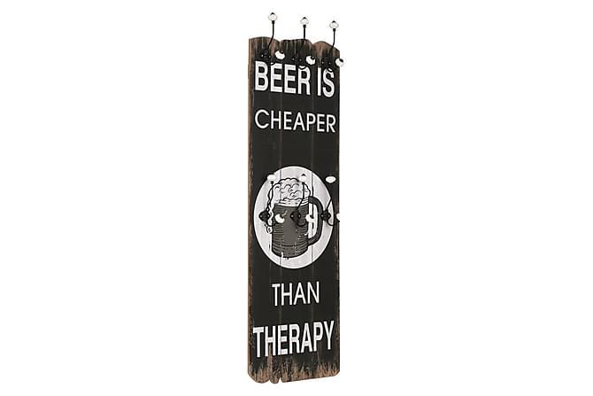 Lavanya Kleshenger 6 Kroker 120x40 cm Beer Cheaper - Multi - Møbler - Oppbevaring - Garderober & garderobesystem