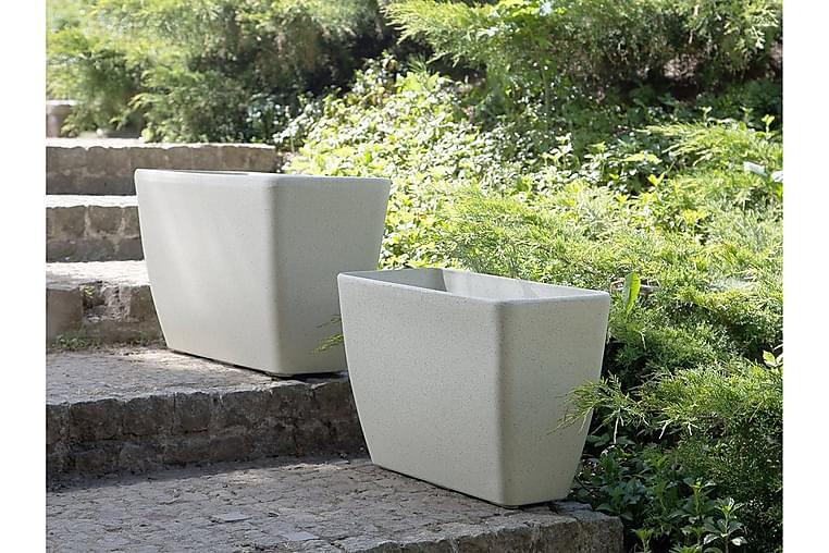 Baris Krukke 74 cm - Beige - Innredning - Krukker & vaser - Krukker