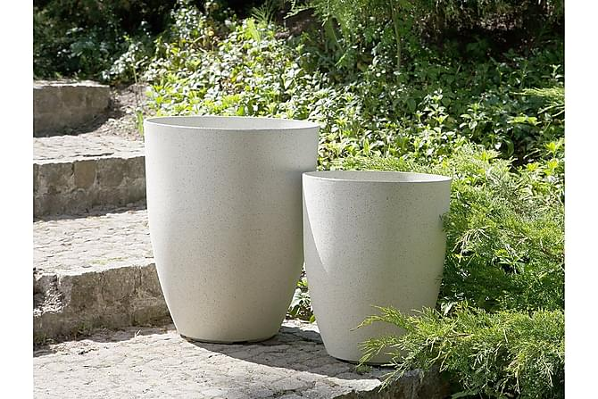 Croton Krukke 35 cm - Beige - Innredning - Krukker & vaser - Krukker