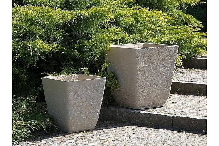 Delos Krukke 49 cm - Beige - Innredning - Krukker & vaser - Krukker