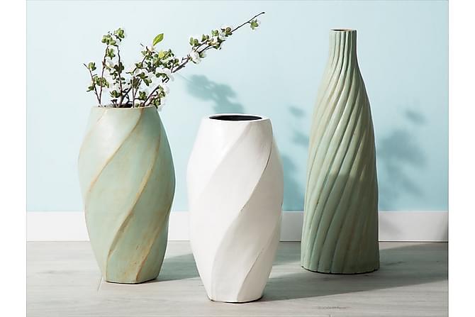 Florentia Vase 54 cm - Grønn - Innredning - Krukker & vaser - Vaser