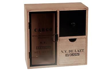 Oppbevaringsboks 27x10 H30