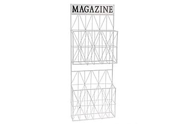 Magazinerfack med 2 Fack 226X8 H67