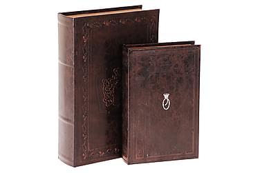 Merrills Bokoppbevaring 33 cm Classic Sett med 2