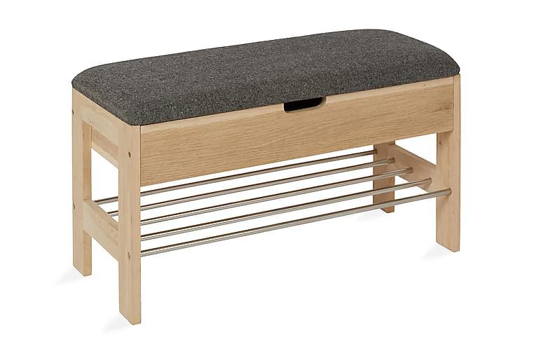 Alastor Sittebenk 80 cm - Brun - Innredning - Små møbler - Benk