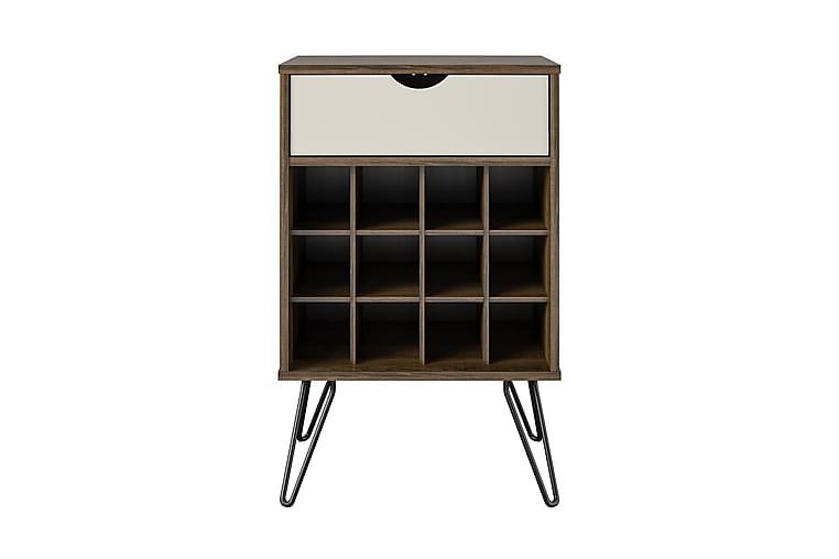 Concord Sidebord 52 cm Mørk Natur - Novogratz - Innredning - Små møbler - Brettbord og småbord