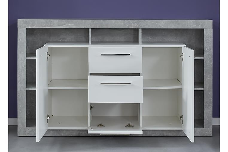 Curella Avlastningsbord - Hvit - Innredning - Små møbler - Brettbord og småbord