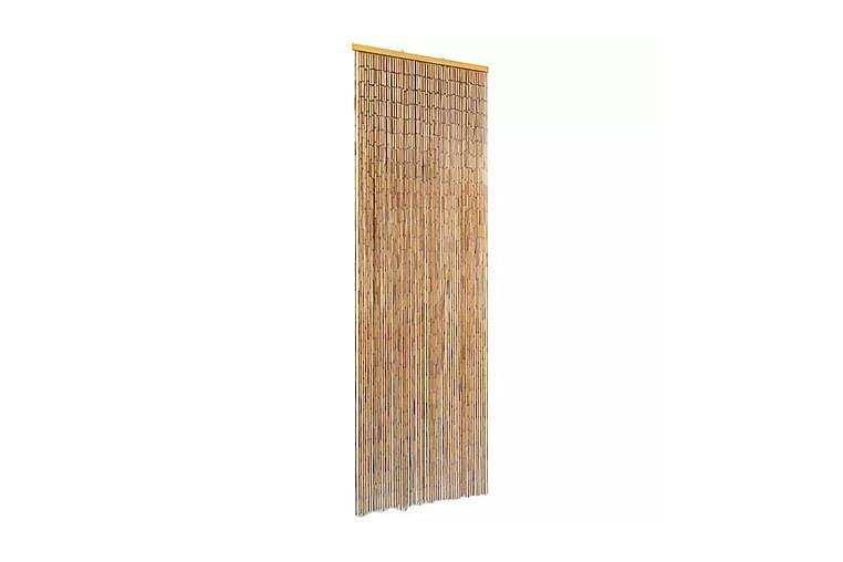 Insektdør gardin bambus 56x185 cm - Brun - Innredning - Små møbler - Romdelere