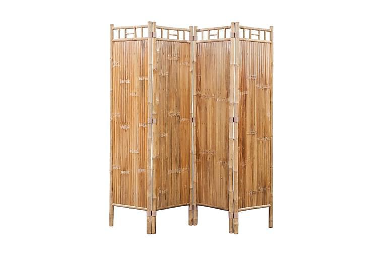 Romdeler 4-panel bambus - Innredning - Små møbler - Romdelere