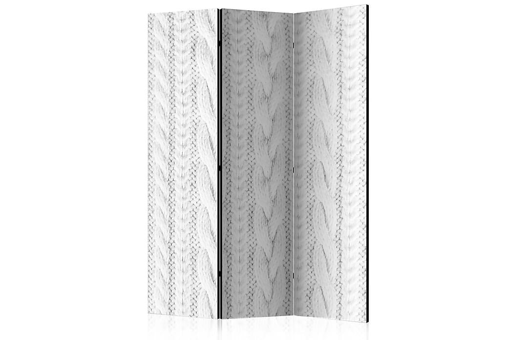 Romdeler White Knit 135x172 - Finnes i flere størrelser - Innredning - Små møbler - Romdelere