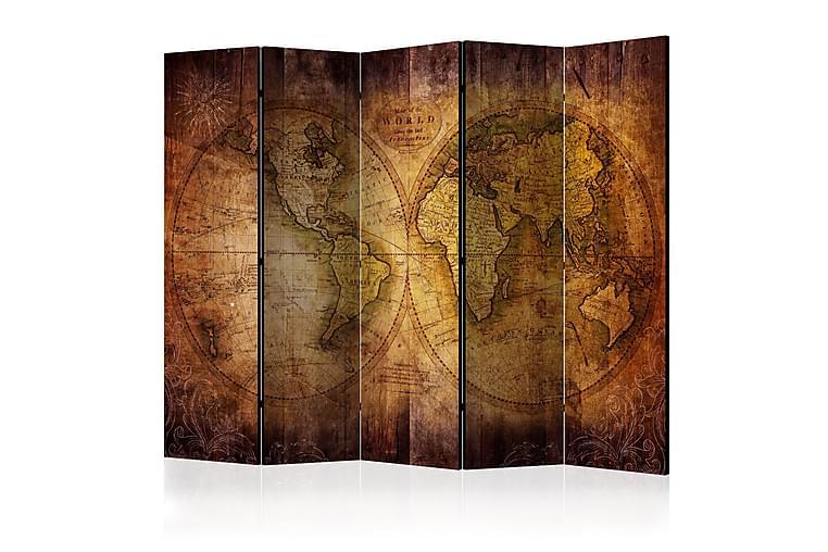 Romdeler - World on old map II 225x172 - Innredning - Små møbler - Romdelere