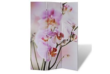 Romdeler 120x180 blomstermønster