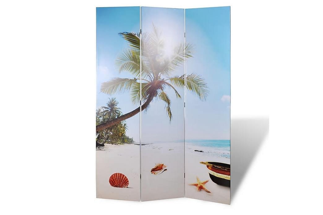 Sammenleggbar romdeler 120x170 cm strand - Innredning - Små møbler - Romdelere
