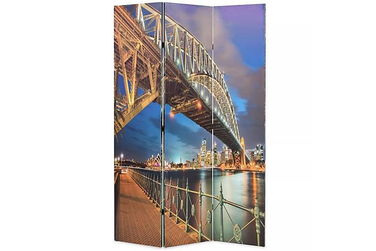 Sammenleggbar romdeler 120x170 cm Sydney Harbour Bridge - Innredning - Små møbler - Romdelere