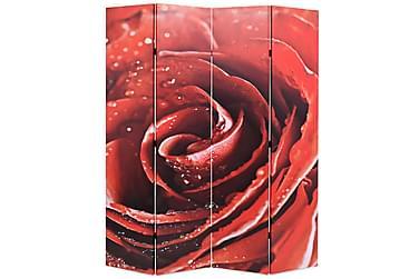 Romdeler 160x180 cm rose rød