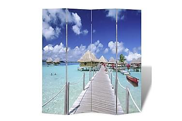Romdeler 160x180 cm strandmønster