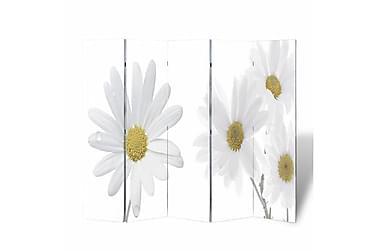 Romdeler 200x180 cm blomstermønster