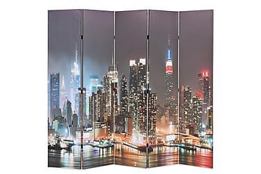 Romdeler 200x180 cm New York natt