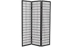Sammenleggbar romdeler 3 paneler japansk stil 120x170 cm sva