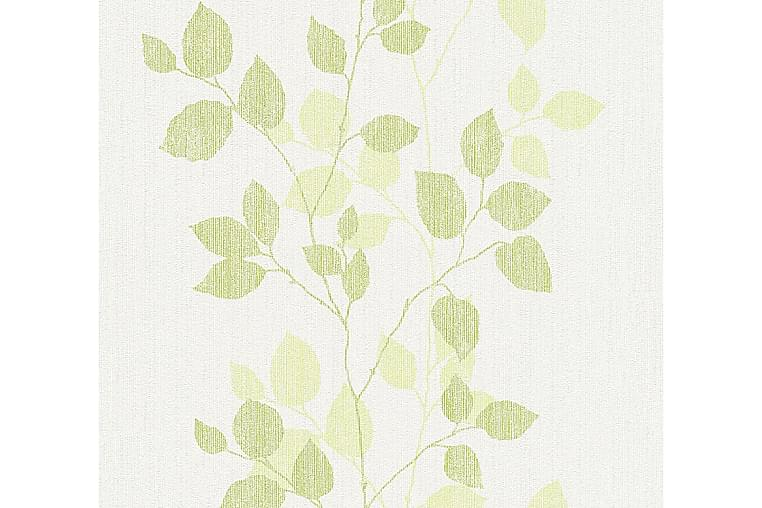 Blomstrete Tapet Happy Spring Uvevd Grønn - AS Creation - Innredning - Tapeter - Mønstret tapet