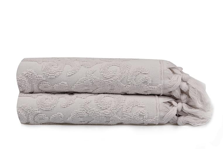 Şaheser Håndkle 50x90 cm 2-pk - Sand - Innredning - Tekstiler - Baderomstekstiler
