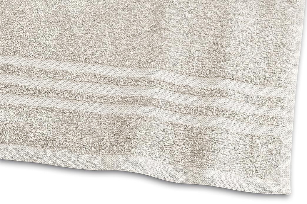 Basic Frotté 30x50 cm Sand - Borganäs - Innredning - Tekstiler - Baderomstekstiler