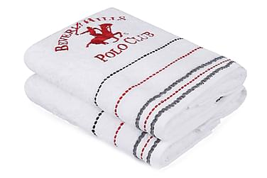 Beverly Hills Polo Club Håndkle 50x90 cm 2-pk