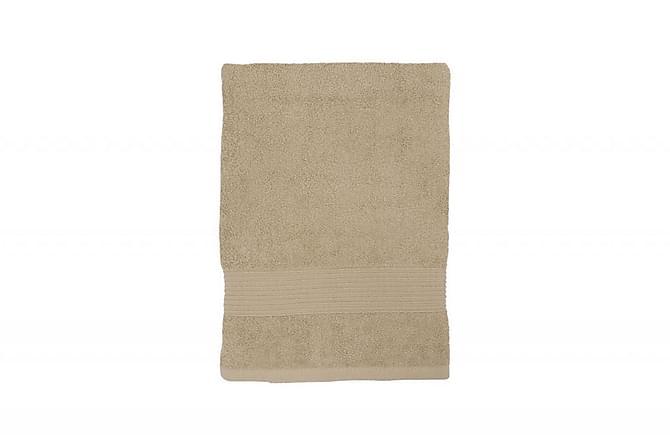 Bris Badelaken 140x70 cm Sand - Turiform - Innredning - Tekstiler - Baderomstekstiler
