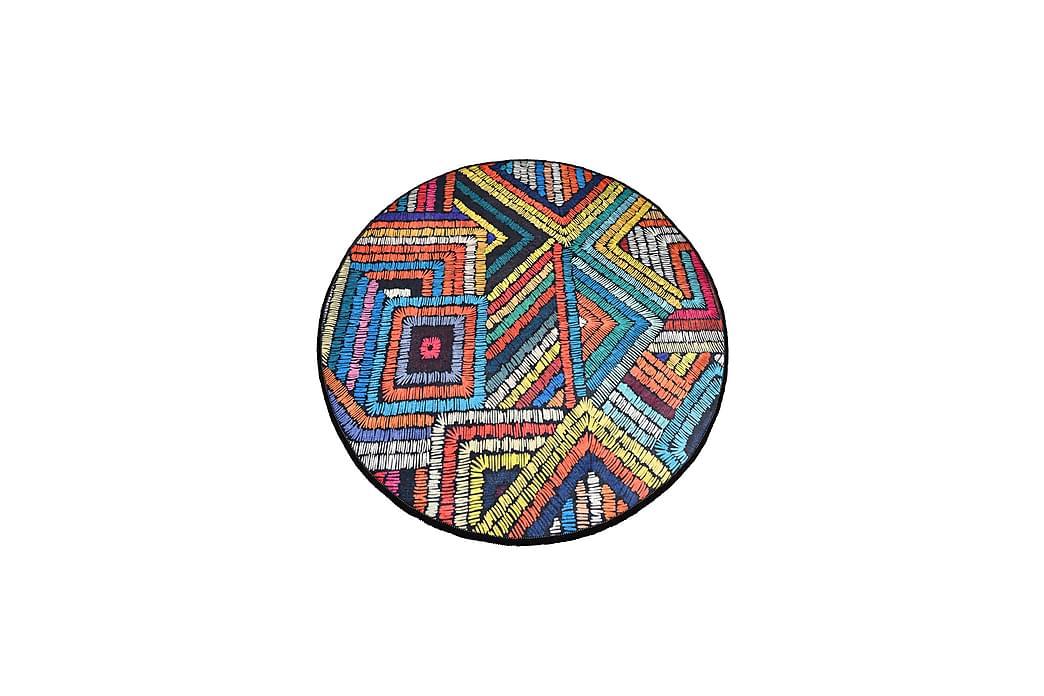 Chilai Home Badematte 100 Rund - Multi - Innredning - Tekstiler - Baderomstekstiler