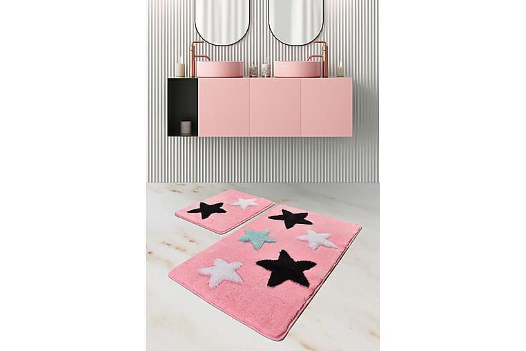 Chilai Home Badematte Sett med 2 - Multi - Innredning - Tekstiler - Baderomstekstiler