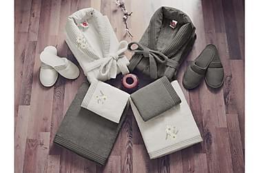 Cotton Box Håndklesett Familie Sett med 4