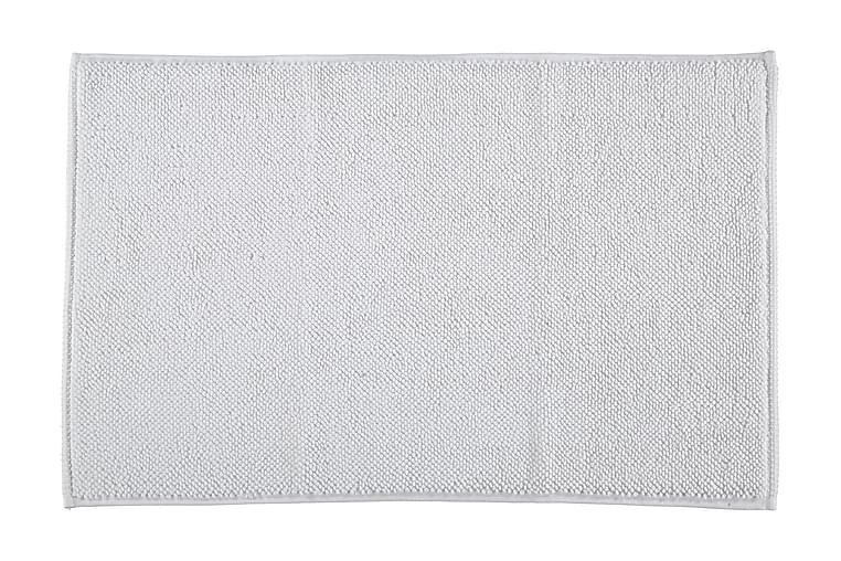 Gripsholm Baderomsmatte Terry Sigrid 50x80 cm - Hvit - Innredning - Tekstiler - Baderomstekstiler