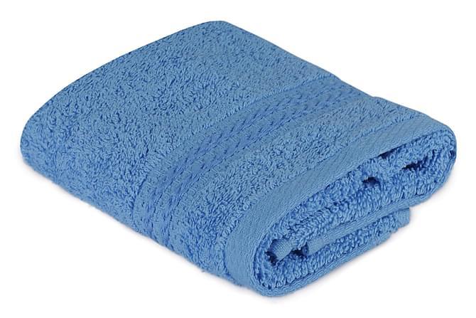 Hobby Håndkle 30x50 cm - Blå - Innredning - Tekstiler - Baderomstekstiler