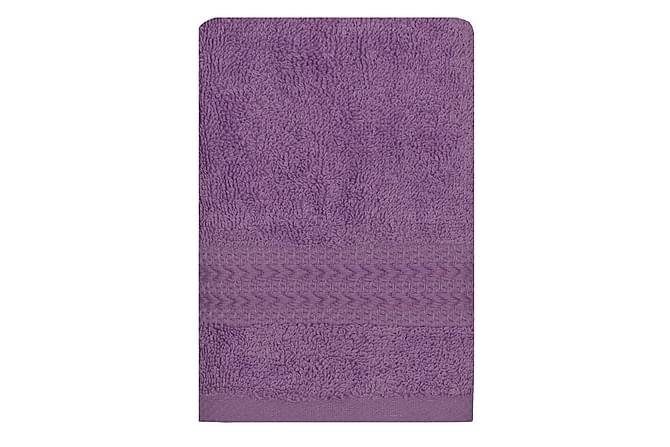 Hobby Håndkle 30x50 cm - Lilla - Innredning - Tekstiler - Baderomstekstiler