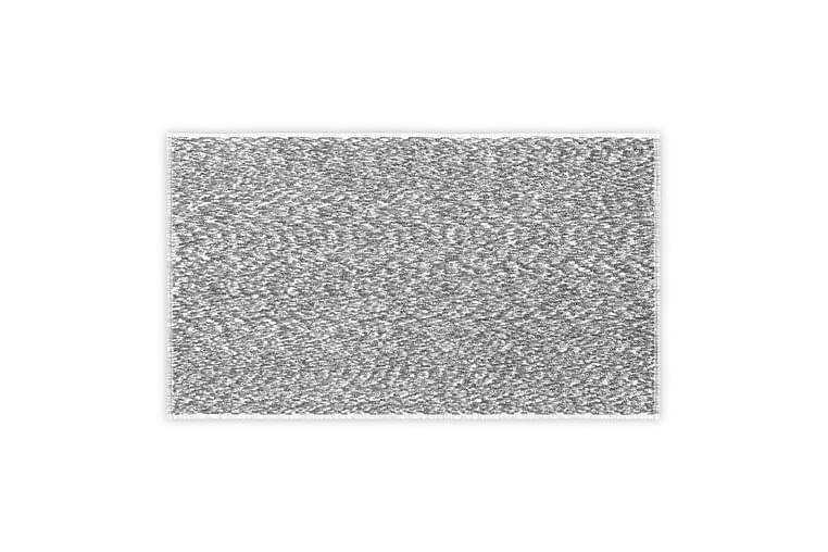 Morghyn Badehåndkle - Mørkegrå/Hvit - Innredning - Tekstiler - Baderomstekstiler