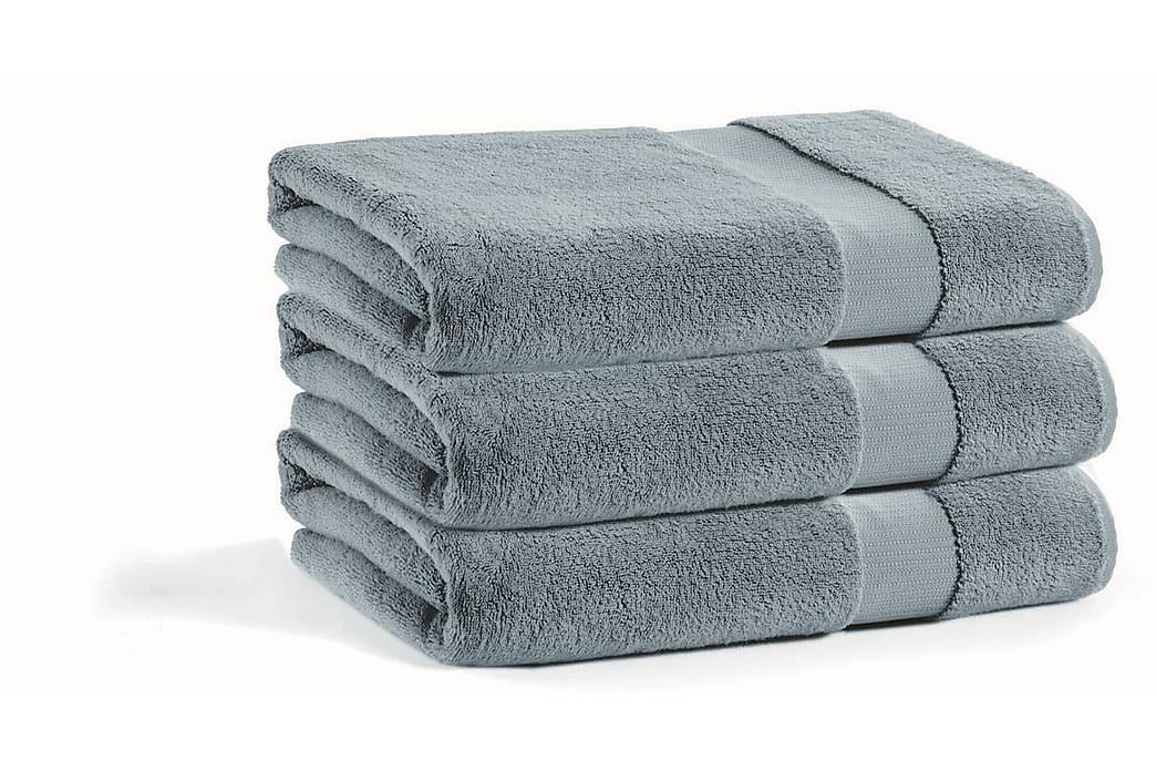 Morghyn Håndkle - Mørkegrå - Innredning - Tekstiler - Baderomstekstiler