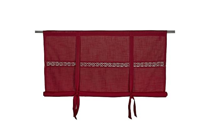 Capasin Heisgardin 180x120 cm - Rød - Innredning - Tekstiler - Gardiner