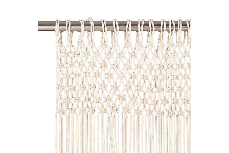 Makramé gardin 140x240 cm bomull - Innredning - Tekstiler - Gardiner