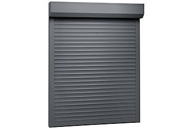 Rulleskodde aluminium 140x150 cm antrasitt