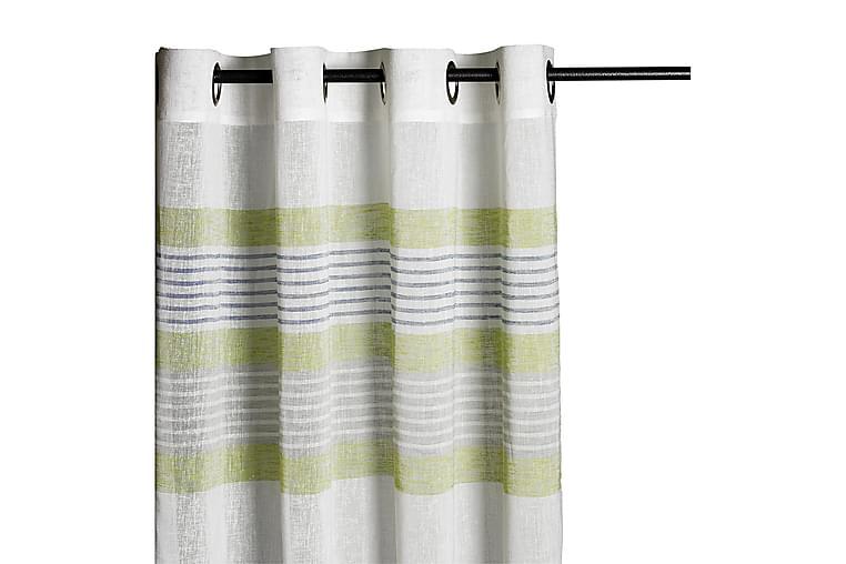 Tumbao Maljelengde 140x240 cm - Grønn - Innredning - Tekstiler - Gardiner