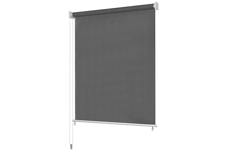 Utendørs rullegardin 100x140 cm antrasitt - Antrasittgrå - Innredning - Tekstiler - Gardiner
