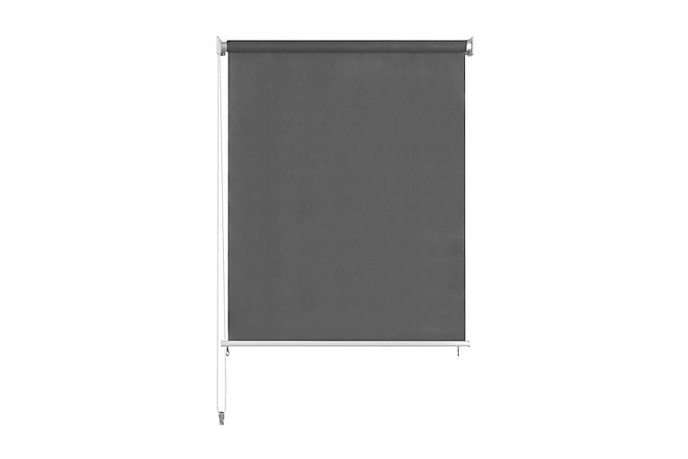 Utendørs rullegardin 220x140 cm antrasitt - Antrasittgrå - Innredning - Tekstiler - Gardiner