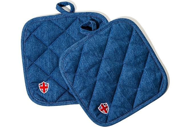 Lord Nelson Victory Gryteklut 20x20 cm - Blå - Innredning - Tekstiler - Kjøkkentekstiler