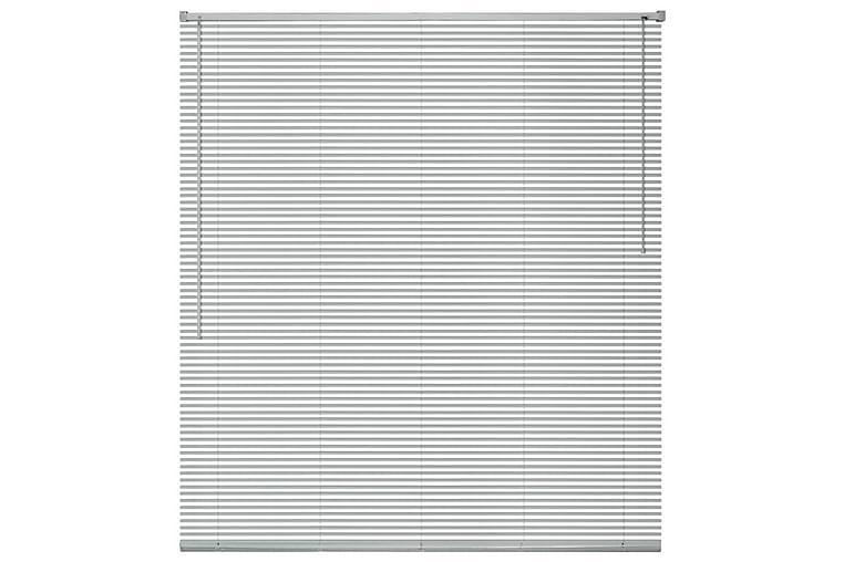 Persienner Aluminium 140x160 cm Sølv - Sølv - Innredning - Tekstiler - Persienner