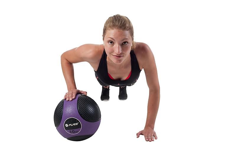 Pure2Improve Medisinball 10 kg lilla - Innredning - Tekstiler - Persienner