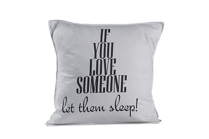 BC Sleep Putetrekk 48x48 - Hvit - Innredning - Tekstiler - Putetrekk