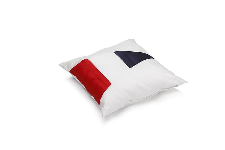 Etol Regatta Putetrekk 45x45 cm - Rød/Hvit/Blå - Innredning - Tekstiler - Putetrekk