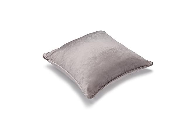 Etol Velvet Putetrekk 45x45 cm - Grå - Innredning - Tekstiler - Putetrekk