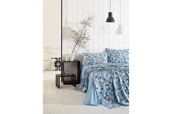Marie Claire Laken Enkelt 160x240 cm+Putetrekk - Blå - Innredning - Tekstiler - Putetrekk